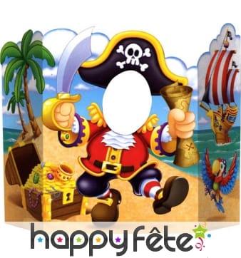 Décor de pirates pour photo