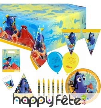 Décorations Dory pour table d'anniversaire