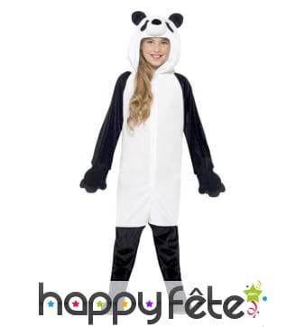 Déguisement de panda pour enfant