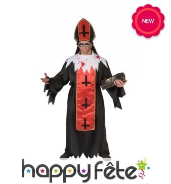Déguisement de Pape Satanique pour homme