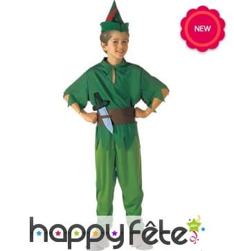 Déguisement de Peter Pan pour enfant