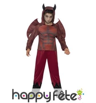 Déguisement de petit diable enfant