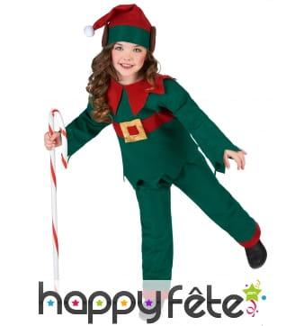 Déguisement de petit Elfe de Noël