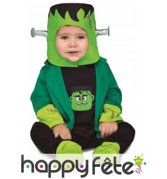 Déguisement de petit Frankenstein pour bébé