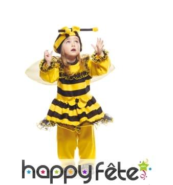 Déguisement de petite abeille rayée