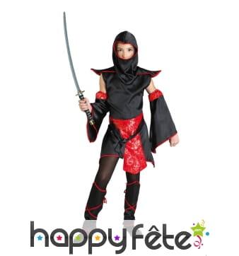 Déguisement de petite ninja