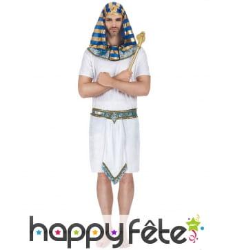 Déguisement de pharaon égyptien pour adulte