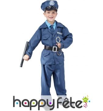 Déguisement de policier pour garçon