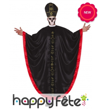 Déguisement de prêtre vaudou pour adulte