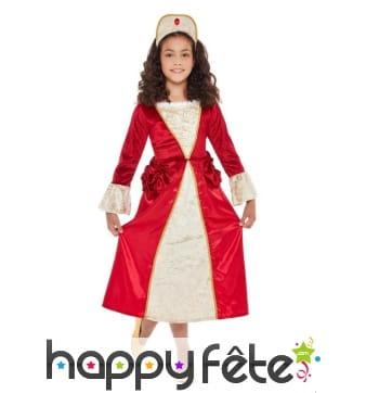 Déguisement de princesse Tudor pour enfant