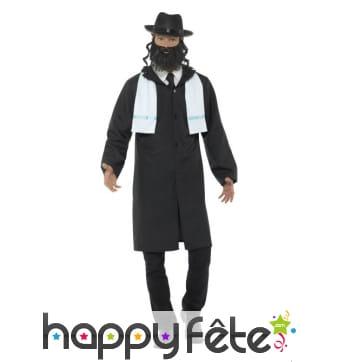 Déguisement de rabbin pour homme adulte