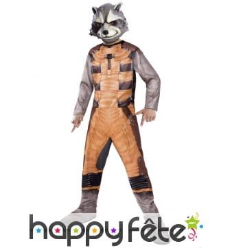 Déguisement de Rocket Raccoon pour enfant