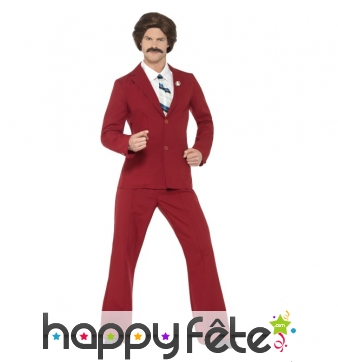 Déguisement de Ron Burgundy, Anchorman