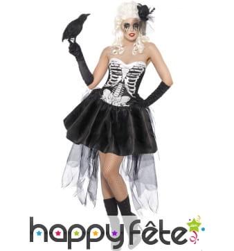 Déguisement danseuse squelette