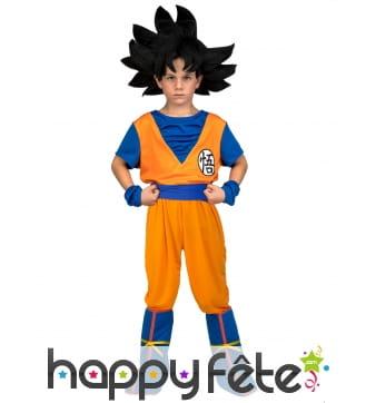 Déguisement de Son Goku pour enfant, en coffret