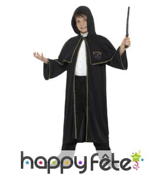 Déguisement de sorcier magicien pour enfant