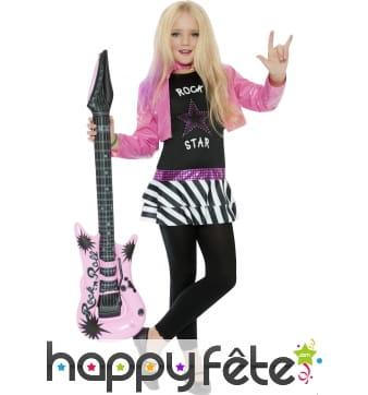 Déguisement de star du rock pour enfant