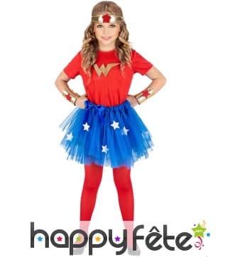 Déguisement de super-fille pour enfant