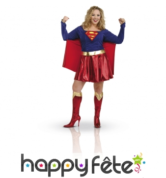 Déguisement de Super Girl adulte