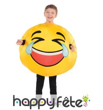 Déguisement du smiley mdr pour enfant