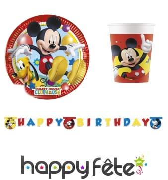 Déco de table d'anniversaire Mickey Mouse Party