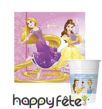 Déco de table Princesses Disney Dreaming