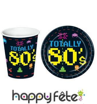 Déco de table Totaly 80's