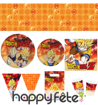 Décoration de table Dragon Ball Z