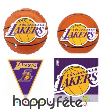 Décoration de table Lakers