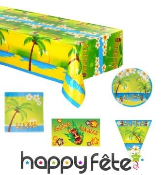 Décorations de table Aloha