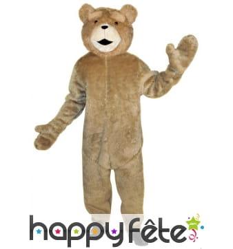 Déguisement de Ted pour adulte, mascotte