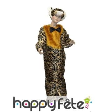 Déguisement de tigre en costume pour enfant