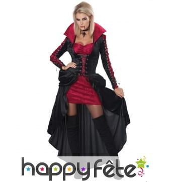 Déguisement de vampire élégante pour femme