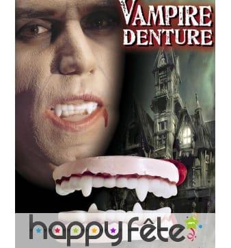 Dentier de vampire en 2 parties