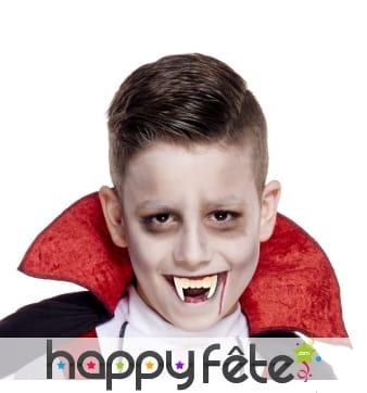 Dents de vampire modèle enfant