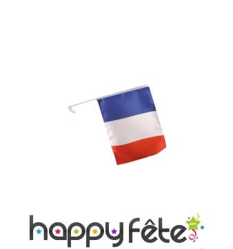 Drapeau de voiture français