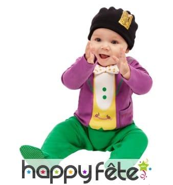 Déguisement de Willy Wonka pour bébé