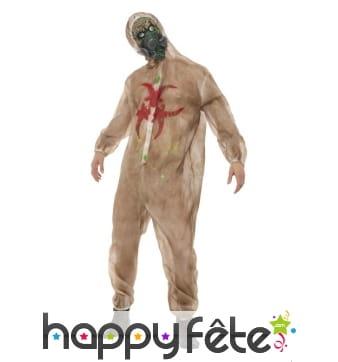 Déguisement de zombie Biohazard