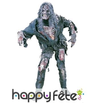 Déguisement de zombie réaliste avec masque