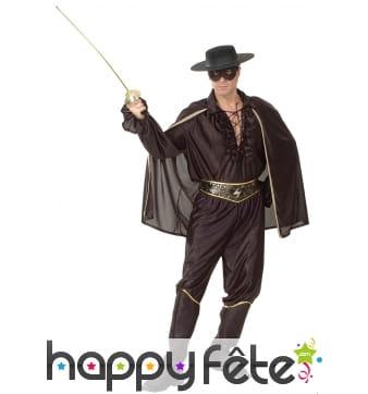 Déguisement de Zorro pour homme adulte