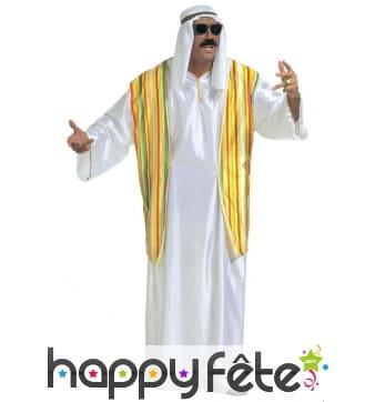 Déguisement émir arabe pour adulte