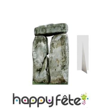 Dolmen en carton plat, 180cm