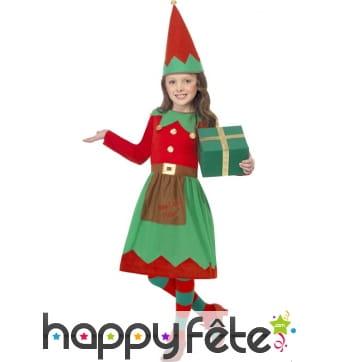 Déguisement elfe père Noel pour enfant