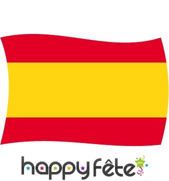 Drapeau Espagne sans écusson (120x180)
