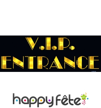 """Décoration """"entrée VIP"""""""