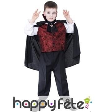 Déguisement enfant vampire