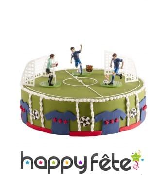 Décorations FC Barcelone pour gâteaux