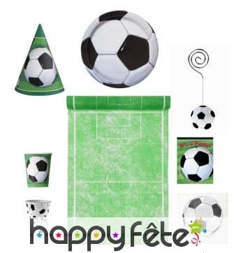 Décorations foot de table pour enfant