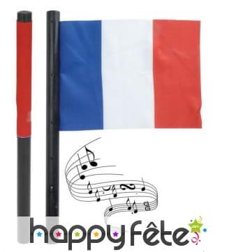 Drapeau France sonore, marseillaise