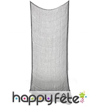 Drap gris à suspendre pour Halloween 75x150cm